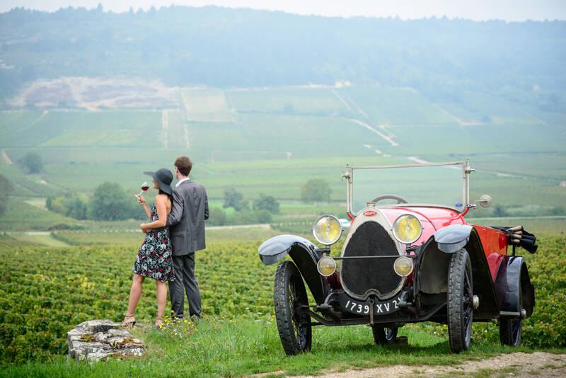 Route des grands crus du vignoble bourguignon