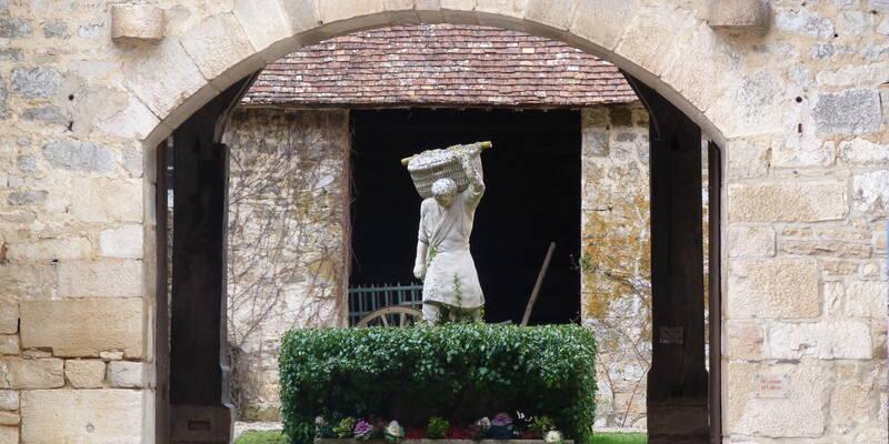 Clos de Vougeot dans le pays Beaunois