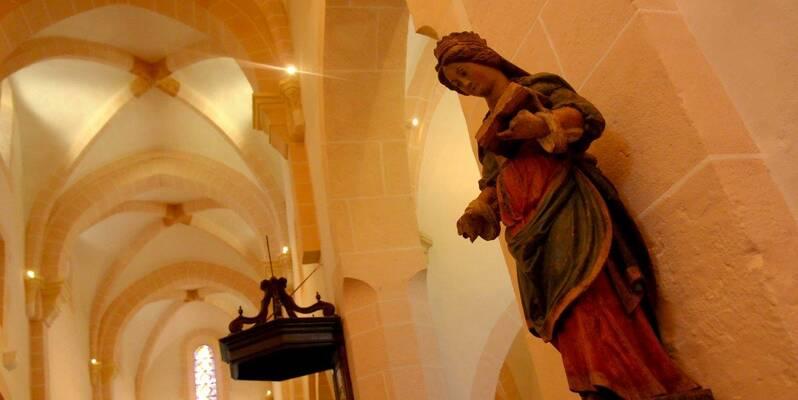 Santenay, Eglise Saint Jean de Narosse - Statue