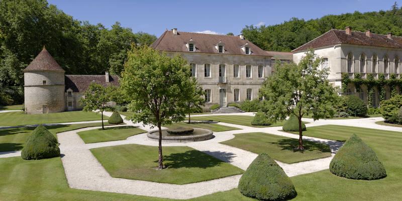 Abbaye de Fontenay_Jardins ©Fréderic Dupin