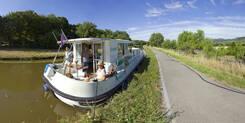 Le long du Canal entre Chagny et Santenay