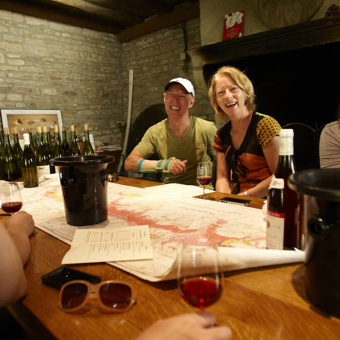 Chez un viticulteur