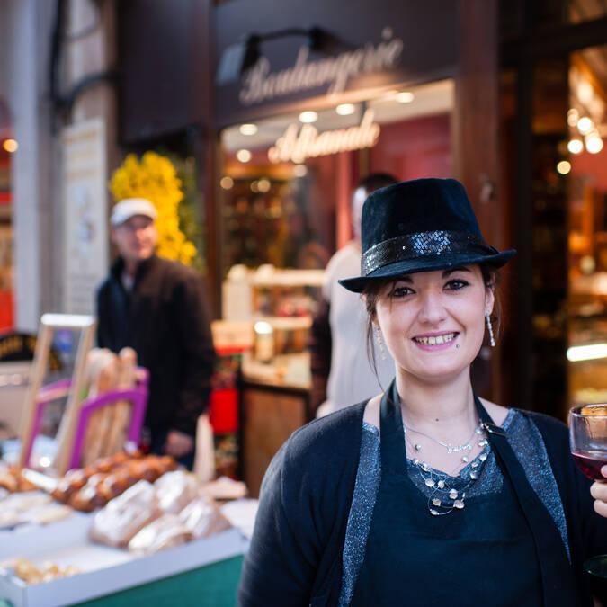 Vente des vins Beaune, Dégustation de vin